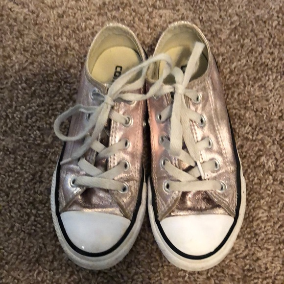 a2889d3f15c3 Converse Other - Rose gold girls converse